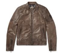 Slipway Distressed Leather Jacket