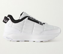Aerial GT Grosgrain-Trimmed Quilted Leather Sneakers