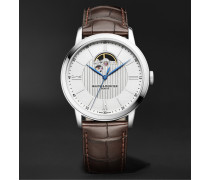 Classima Automatic 42mm Stainless Steel and Alligator Watch, Ref. No. MOA10524