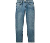 Slater Slim-Fit Tapered Denim Jeans