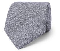 8cm Radford Linen-jacquard Tie