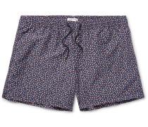 Arlen Slim-fit Mid-length Floral-print Swim Shorts