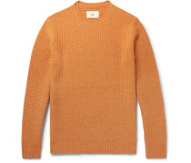 Signal Ribbed Wool Sweater