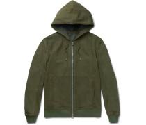 Nubuck Hooded Jacket