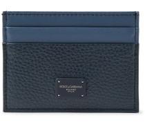 Two-tone Full-grain Leather Cardholder