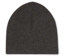 Cashmere And Silk-blend Beanie