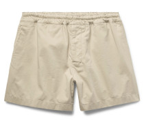 Andy Stretch-cotton Shorts