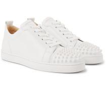 Louis Junior Spikes Cap-Toe Suede Sneakers
