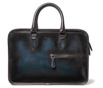 Un Jour Mini Polished-leather Briefcase