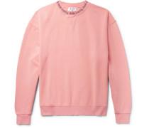 Yana Printed Loopback Cotton-jersey Sweatshirt