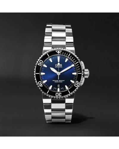 Aquis Date Automatic 43mm Stainless Steel Watch