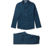 Braemar Checked Cotton Pyjama Set