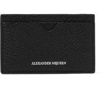 Pebble-grain Leather Cardholder