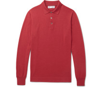 Cashmere And Silk-blend Polo Shirt