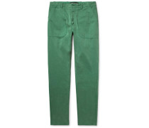Garment-dyed Cotton-twill Chinos