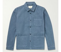 Assembly Garment-Dyed Cotton-Twill Field Jacket