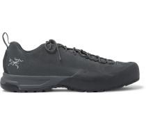 Konseal AR Rubber-Trimmed Nubuck Hiking Sneakers