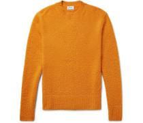 Peele Slim-fit Nep Wool And Cashmere-blend Sweater