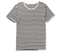 Ove Striped Slub Organic Cotton-jersey T-shirt