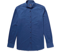 London Slim-fit Cotton-chambray Shirt
