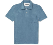 Slim-fit Cotton-terry Polo Shirt