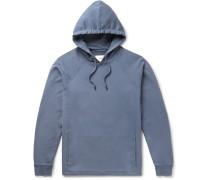 Rivet Loopback Cotton-jersey Hoodie