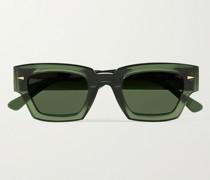 Villette Rectangle-Frame Acetate Sunglasses