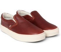 Cup Ca Leather Slip-on Sneakers