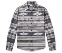 Canyon Cotton-Jacquard Overshirt