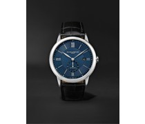 Classima Automatic 42mm Stainless Steel and Alligator Watch, Ref. No. 10480