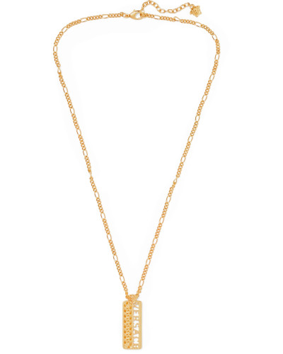 Logo Gold-Tone Necklace