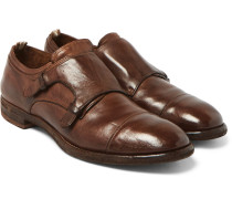 Princeton Leather Monk-strap Shoes
