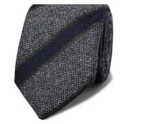 + Drake's 8cm Striped Wool Tie