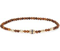 14-Karat Gold, Sapphire and Bead Bracelet