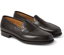 Duke Leather Penny Loafers