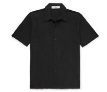 Suneham Embroidered Cotton-Blend Shirt