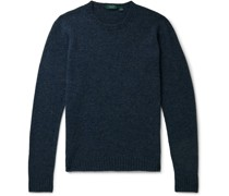Mélange Virgin Wool Sweater