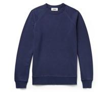 Schrank Pigment-Dyed Loopback Cotton-Jersey Sweatshirt