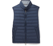 Davio Quilted Shell Down Gilet