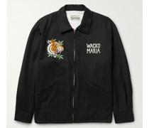 + Tim Lehi Vietnam Embroidered Satin-Twill Jacket