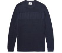 Henrik Waffle-knit Cotton Sweater