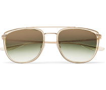 Lafayette Aviator-style Acetate And Gold-tone Sunglasses