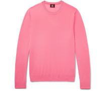 Contrast-tipped Merino Wool Sweater