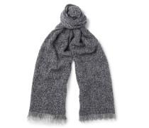 Textured Wool-blend Scarf