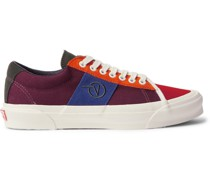 Vault UA OG Sid LX Logo-Embroidered Suede and Canvas Sneakers