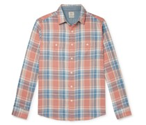 Roadtrip Checked Organic Cotton Shirt