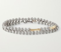 Plata Sterling Silver and Gold-Filled Pearl and Opal Wrap Bracelet