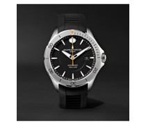 Clifton Club Automatic 42mm Stainless Steel and Rubber Watch, Ref. No. 10406