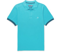 Palatin Slim-fit Contrast-tipped Cotton-piqué Polo Shirt