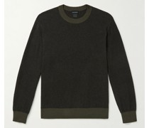 Cotton and Wool-Blend Sweater